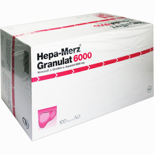 Abbildung von Hepa Merz Granulat 6000  100 Stück