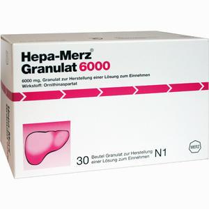 Abbildung von Hepa Merz Granulat 6000 Btl  30 Stück