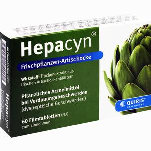 Abbildung von Hepacyn Frischpflanzen- Artischocke Filmtabletten 60 Stück