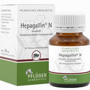 Abbildung von Hepagallin N Dragees 50 Stück