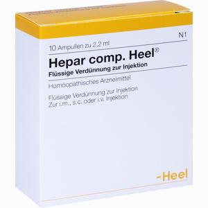 Abbildung von Hepar Comp. Heel Ampullen 10 Stück