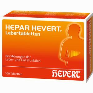 Abbildung von Hepar Hevert Lebertabletten  100 Stück