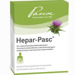 Abbildung von Hepar Pasc Filmtabletten 60 Stück