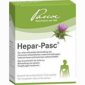 Abbildung von Hepar Pasc Filmtabletten 100 Stück