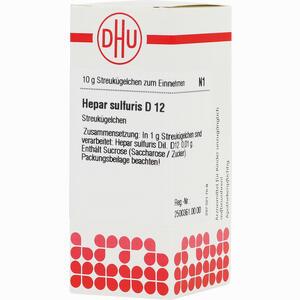 Abbildung von Hepar Sulfuris D12 Globuli 10 g