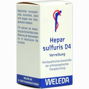Abbildung von Hepar Sulfuris D4 Trituration 20 g