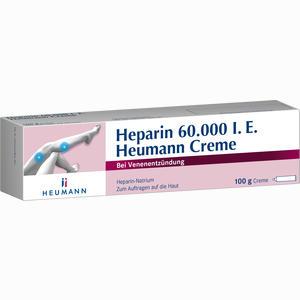Abbildung von Heparin 60000 Heumann Creme  100 g