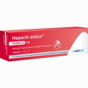 Abbildung von Heparin Axicur 60.000 I.e. Gel Gel Axicorp pharma 100 g
