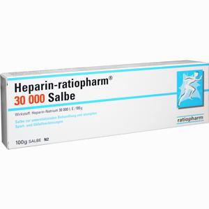 Abbildung von Heparin- Ratiopharm 30000 Salbe  100 g