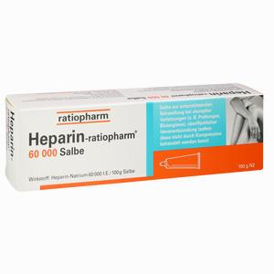 Abbildung von Heparin Ratiopharm 60000 Salbe  100 g