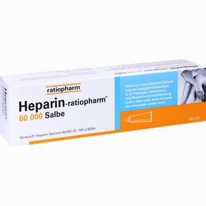 Abbildung von Heparin Ratiopharm 60000 Salbe  150 g