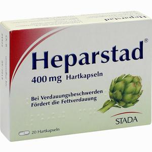 Abbildung von Heparstad Artischocken- Kapseln  20 Stück