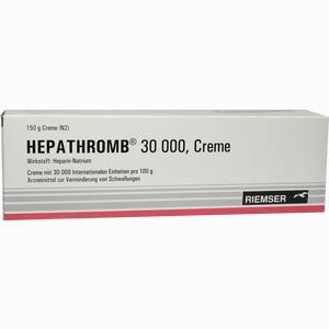Abbildung von Hepathromb 30000 Creme 150 g