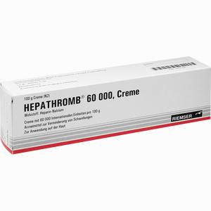 Abbildung von Hepathromb 60000 Creme 100 g