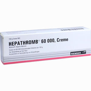 Abbildung von Hepathromb 60000 Creme 150 g