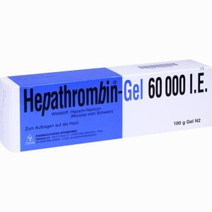 Abbildung von Hepathrombin 60000 Gel 100 g