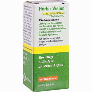 Abbildung von Herba- Vision Augentrost Augentropfen 15 ml