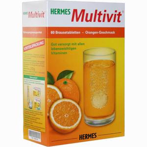 Abbildung von Hermes Multivit Brausetabletten 60 Stück