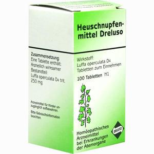 Abbildung von Heuschnupfenmittel Dreluso Tabletten 100 Stück