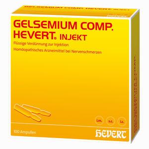 Abbildung von Hevert Gelsemium Comp. Injekt Ampullen 100 Stück