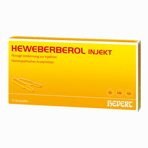 Abbildung von Heweberberol Injekt Ampullen 10 Stück