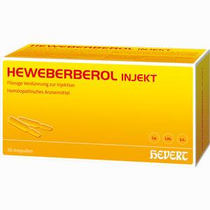 Abbildung von Heweberberol Injekt Ampullen 50 Stück