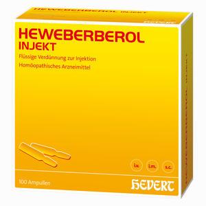 Abbildung von Heweberberol Injekt Ampullen 100 Stück