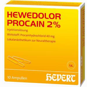 Abbildung von Hewedolor Procain 2% Ampullen 10 Stück