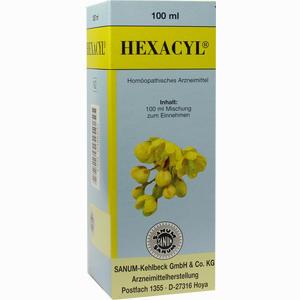 Abbildung von Hexacyl Tropfen 100 ml