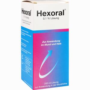 Abbildung von Hexoral 0.1 % Lösung  200 ml