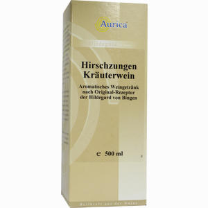 Abbildung von Hirschzungen Kräuterwein Aurica Lösung  500 ml