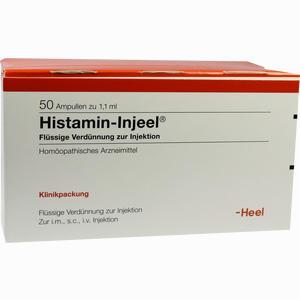 Abbildung von Histamin Inj Hom All Ampullen 50 Stück