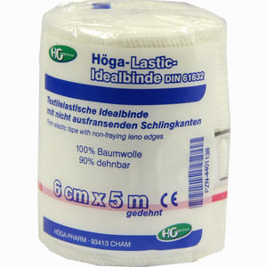 Abbildung von Höga Lastic Idealbinde 6cm X 5m Gedehnt  1 Stück