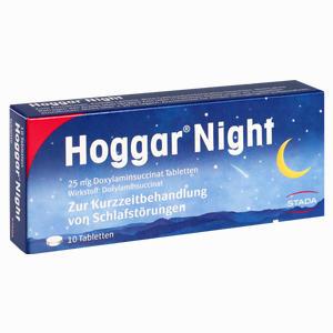 Abbildung von Hoggar Night Tabletten  10 Stück