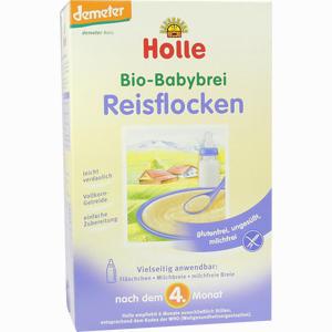 Abbildung von Holle Bio- Babybrei Reisflocken  250 g