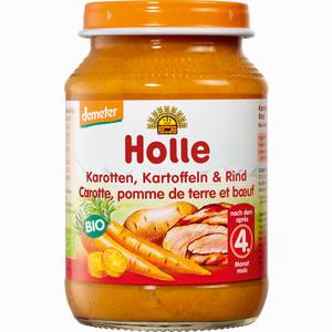 Abbildung von Holle Karotten Kartoffeln & Rind Brei 190 g