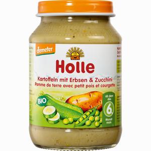 Abbildung von Holle Kartoffeln mit Erbsen & Zucchini Brei 190 g