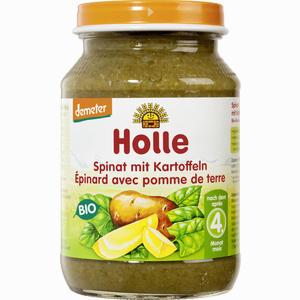 Abbildung von Holle Spinat mit Kartoffeln Brei 190 g