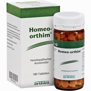 Abbildung von Homeo- Orthim Tabletten  180 Stück
