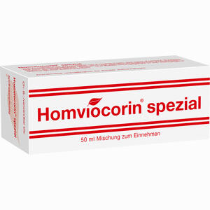 Abbildung von Homviocorin Spezial Tropfen 50 ml