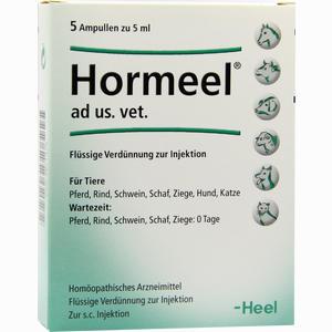 Abbildung von Hormeel Ad Us Vet Ampullen 5 x 5 ml