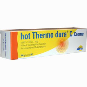 Abbildung von Hot Thermo Dura C Creme  100 g