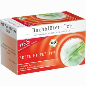 Abbildung von H&s Bachblüten Erste- Hilfe- Tee Filterbeutel 20 Stück