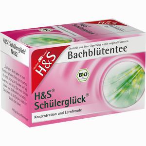 Abbildung von H&s Bachblüten Schülerglück- Tee Filterbeutel 20 Stück