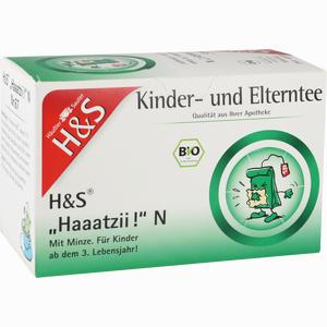 Abbildung von H&s Bio Haaatzii N Kinder- und Elterntee Filterbeutel 20 Stück