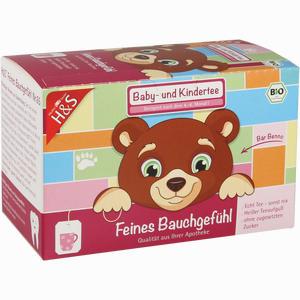 Abbildung von H&s Feines Bauchgefühl (bio Baby- und Kindertee) Filterbeutel 20 Stück