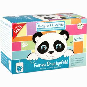 Abbildung von H&s Feines Brustgefühl (bio Baby- und Kindertee) Filterbeutel 20 Stück