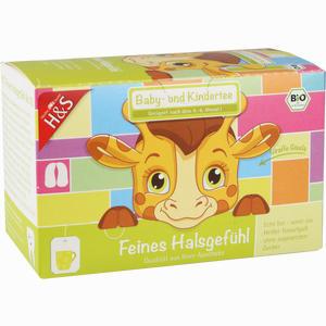 Abbildung von H&s Feines Halsgefühl (bio Baby- und Kindertee) Filterbeutel 20 Stück