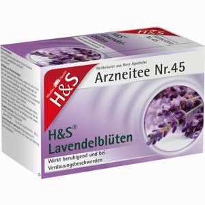 Abbildung von H&s Lavendelblüten Filterbeutel 20 Stück