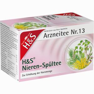 Abbildung von H&s Nieren- Spültee Filterbeutel 20 Stück